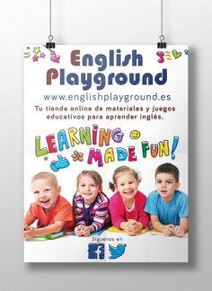flyer English Playground