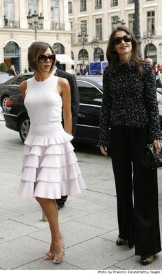 Victoria Beckham & Katie Holmes