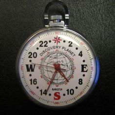 A direction watch is a specialized 24-hour watch, with compass card dial, designed for finding directions using the sun in the northern hemisphere. With the watch set to indicate local time, the hour hand is pointed directly at the sun. North is then indicated by the local midnight position.