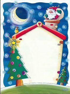 Pretty Christmas Free Printable Photo Frames, Cards or Invitations. Christmas Border, Christmas Frames, Christmas Paper, Christmas Time, Christmas Cards, Merry Christmas, Christmas Ornaments, Christmas Letterhead, Christmas Stationery