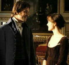 Fitzwilliam Darcy) & Keira Knightley (Elizabeth Bennet) - Pride & Prejudice directed by Joe Wright Elizabeth Bennet, Mr Darcy And Elizabeth, Matthew Macfadyen, Sr Darcy, Pride & Prejudice Movie, Jane Austen Novels, Keira Knightley, Actors, Good Movies
