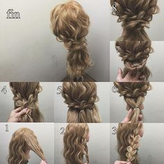 Pin by Irma Olivas on peinados in 2019 Cute Quick Hairstyles, Up Hairstyles, Wedding Hairstyles, Wedding Hair Tips, Bridal Hair Inspiration, Hair Arrange, Hair Setting, Pinterest Hair, Bad Hair