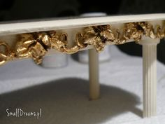 how to: making trim for miniature furniture