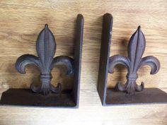 Fleur de Lis Heavy Cast Iron Bookends tex gen,http://www.amazon.com/dp/B002O55CE8/ref=cm_sw_r_pi_dp_IOmhtb0SH5Z874DS
