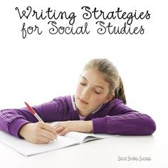 Writing is a key aspect of Social Studies instruction. But are you struggling to come up with new ideas? Look no further!