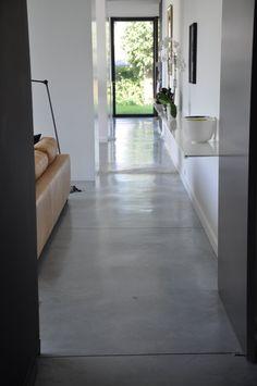 Gepolierd beton. Ind