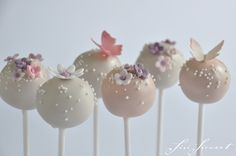 Blossom Daisy Butterfly   Sisi Siewert Cake Pops über www.zuckerbunt.ch