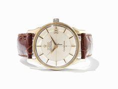 Omega Constellation Watch, 750 Gold, Switzerland, C. 1960