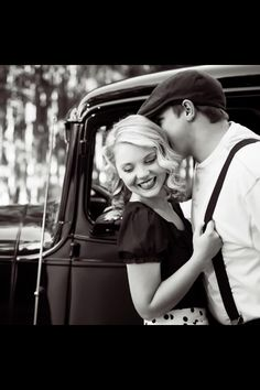 Engagement picture  Copyright: Collette Mruk Photography, vintage engagement, notebook inspired, portrait, styled portrait, styled session