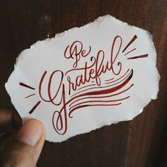 Be grateful | Sophia Louisse