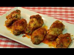 Receta de croquetas cremosas de pechuga de pollo - YouTube