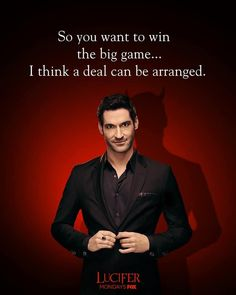 The devil always has a few trick plays up his sleeve. Series Movies, Movies And Tv Shows, Tv Series, Tom Ellis Lucifer, Lauren German, Memes, Morning Star, Tv Shows Online, Film Serie