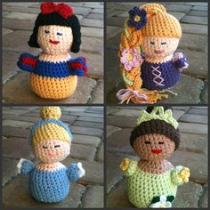 CROCHET PATTERN, Fairytale Princess Doll Toy Collectible. $5.50, via Etsy.
