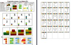 Brevet + feuille de route duplo Lego Activities, Preschool Kindergarten, Legos, Bar Chart, Tours, Teaching, Lego Duplo, Ms Gs, Images