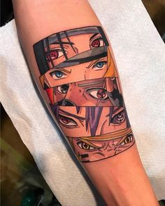 Find the tattoo artists and the perfect inspiration to your tattoo. Forarm Tattoos, Dope Tattoos, Leg Tattoos, Body Art Tattoos, Sleeve Tattoos, Tattoos For Guys, Tattos, Tattoo Arm, Naruto Tattoo