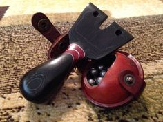 Black, Red and White Micarta SWOPFS