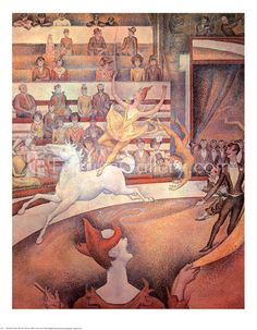 Circus by Georges Seurat