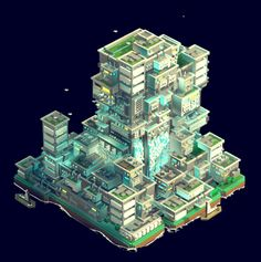 "Check out this @Behance project: ""Water City - Voxel Art Animation"" https://www.behance.net/gallery/51459491/Water-City-Voxel-Art-Animation"