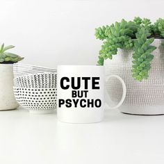 White coffee mug mockup plants bowls by skyladesign on Envato Elements Valentine Gifts For Husband, Birthday Gifts For Husband, Sister Gifts, Sister Birthday, Grandpa Birthday, Girlfriend Birthday, White Coffee Mugs, Funny Coffee Mugs, Funny Mugs