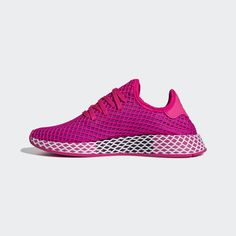 4a9142c0675c5 Deerupt Runner Shoes Shock Pink 5.5 Womens. adidas United States