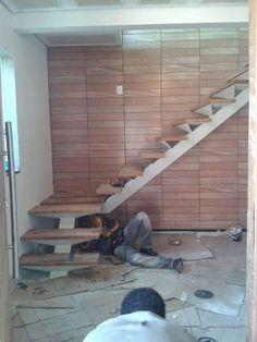 Serralheria de Acabamento Fino: Escadas N° 1 (escama de peixe)