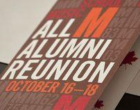 All Alumni Reunion - Invitation sample