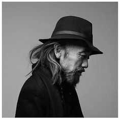 Black-and-white portraits of Nicolas Guerin Yohji Yamamoto by Nicolas Guerin Yohji Yamamoto, Celebrity Photography, Creative Photography, Black And White Portraits, High End Fashion, Madame, Mode Style, Belle Photo, Beautiful People