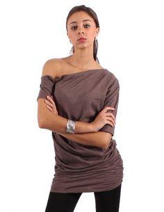 BAP Fashions Women's Bridget One Shoulder Blouse BAP Fashions. $28.99