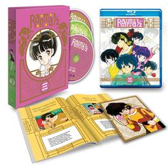 I hope you Ranma 1/2 fans had some money set aside. Today Viz Media has announced that they are planning on releasing the third set of the Ranma 1/2 anime series in North America next week on September 16th. Ranma 1/2 Set 3 will be available both in its new high-def limited edition Blu-ray format as well as a standard DVD set.