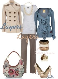 dress your truth type 2 hair | Dressing Your Truth: Type 2 / Layers by jenniemitchell liked on ...