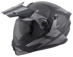 Scorpion has redefined a segment, melding the best features of touring helmets with the versatility of an off-road lid. Scorpion EXO-AT950 Neocon Helmet is t...