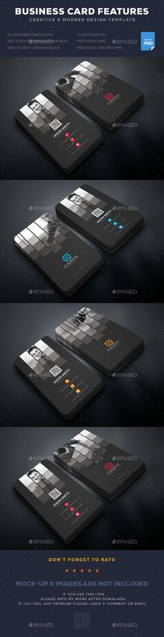 Creative Corporate Business Card Template PSD. Download here: https://graphicriver.net/item/creative-corporate-business-card/17507434?ref=ksioks