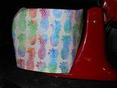 Pineapple KitchenAid Mixing Bowl Cover, Handmade, Custom, OOAK