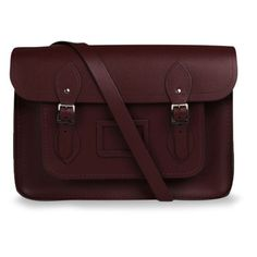 The Cambridge Satchel Company 14 Inch Classic Leather Satchel -... found on Polyvore
