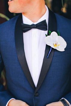 navy and orchid grooms attire @weddignchicks