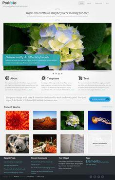 Professional Portfolio WordPress Theme