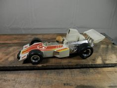 Vintage Kenner SSP 1975 Formula Special General Mills with Driver 1 Car White Red Yellow by WesternKyRustic on Etsy