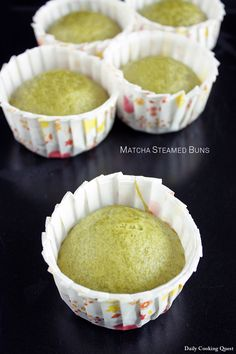 If you love matcha (Japanese green tea), you are going to love these steamed buns. It is really fast to make, just mix and whisk, and 15 minutes of steaming later, voilà, hot piping green lovely steamed buns ready to be enjoyed with coffee or tea. ♥ There is …