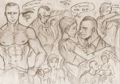 Being a Father. by Tazaca on DeviantArt Good Good Father, A Good Man, Fear Of The Dark, Perfect Husband, Saints Row, Drawing Games, Just Amazing, Game Character, Traditional Art