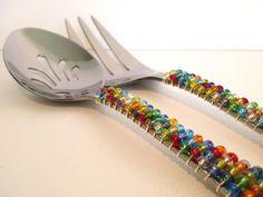 Beaded Silverware