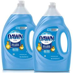 Dawn Ultra Dishwashing Liquid Dish Soap, Original Scent, 2 count, 56 oz each, Multicolor Cleaning Spray, Cleaning Hacks, Cleaning Supplies, Cleaning Grease, Cleaning Products, How To Clean White Shoes, Dawn Dishwashing Liquid, Dawn Dish Soap, Glass Cooktop