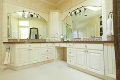L Shaped Vanity Bath Design Ideas Pictures Remodel And Decor