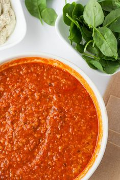 Best Vegan Lasagna: with a Tofu-Cashew Ricotta, lots of fresh spinach, and a protein packed marinara sauce. Best Vegan Lasagna Recipe, Healthy Lasagna, Vegan Mozzarella, Cashew Ricotta, Spinach Ricotta, Healthy Eating Recipes, Vegetarian Recipes, Vegan Meals, Vegan Mac And Cheese