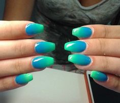 30+ Cute Ombre Nail Art Design You Must Try