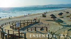 La tranquilidad de relajarte junto al mar es posible en las playas de #Ensenada, no importa si tu aventura es en el Océano Pacifico o en el Mar de Cortés, en ambos lugares encontraras el lugar ideal para descansar! Sol, arena y playa! Aventura por Daniela Lee Marquez