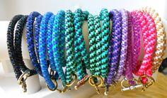Multicolor Plastic Wrap Bracelets