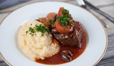 Braised Beef with Swede, Potato and Turnip Mash | Good Chef Bad Chef