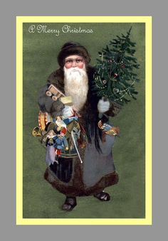 Slate coloured Santa 1911