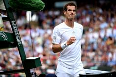 Andy Murray shows some emotion on No.1 Court