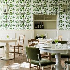 """Espalier"" wallpaper, just gorgeous - Pierre Frey (@fab_lab_sthlm)"